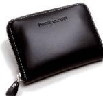 heessac.com イタリアレザー使用コンパクトラウンドファスナー小銭入れ・カード入れ・札入れ財布